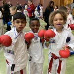 Some of the Fikc competitors placed at the English Karate Kyu Grade Championships
